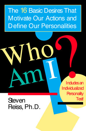 Who Am I? by Steven Reiss book cover