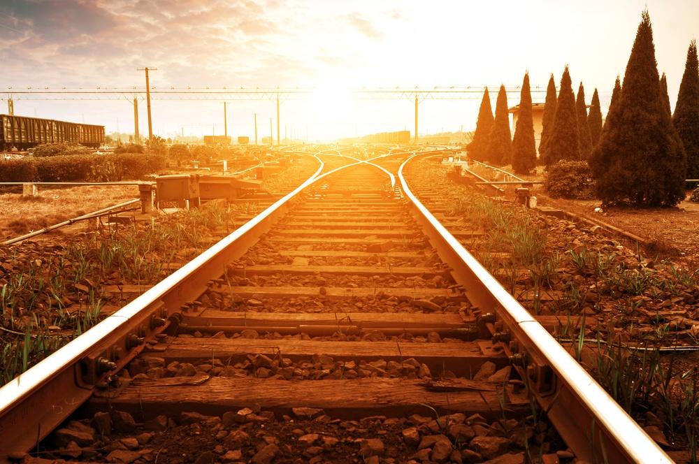 Railway fork