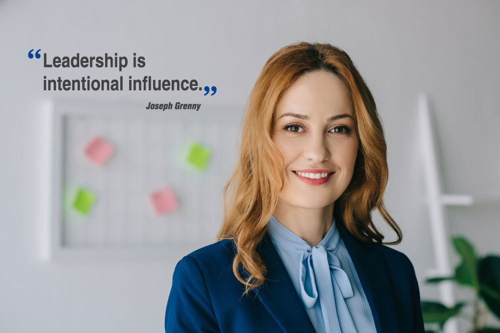 Leadership is intentional influence - Joseph Grenny
