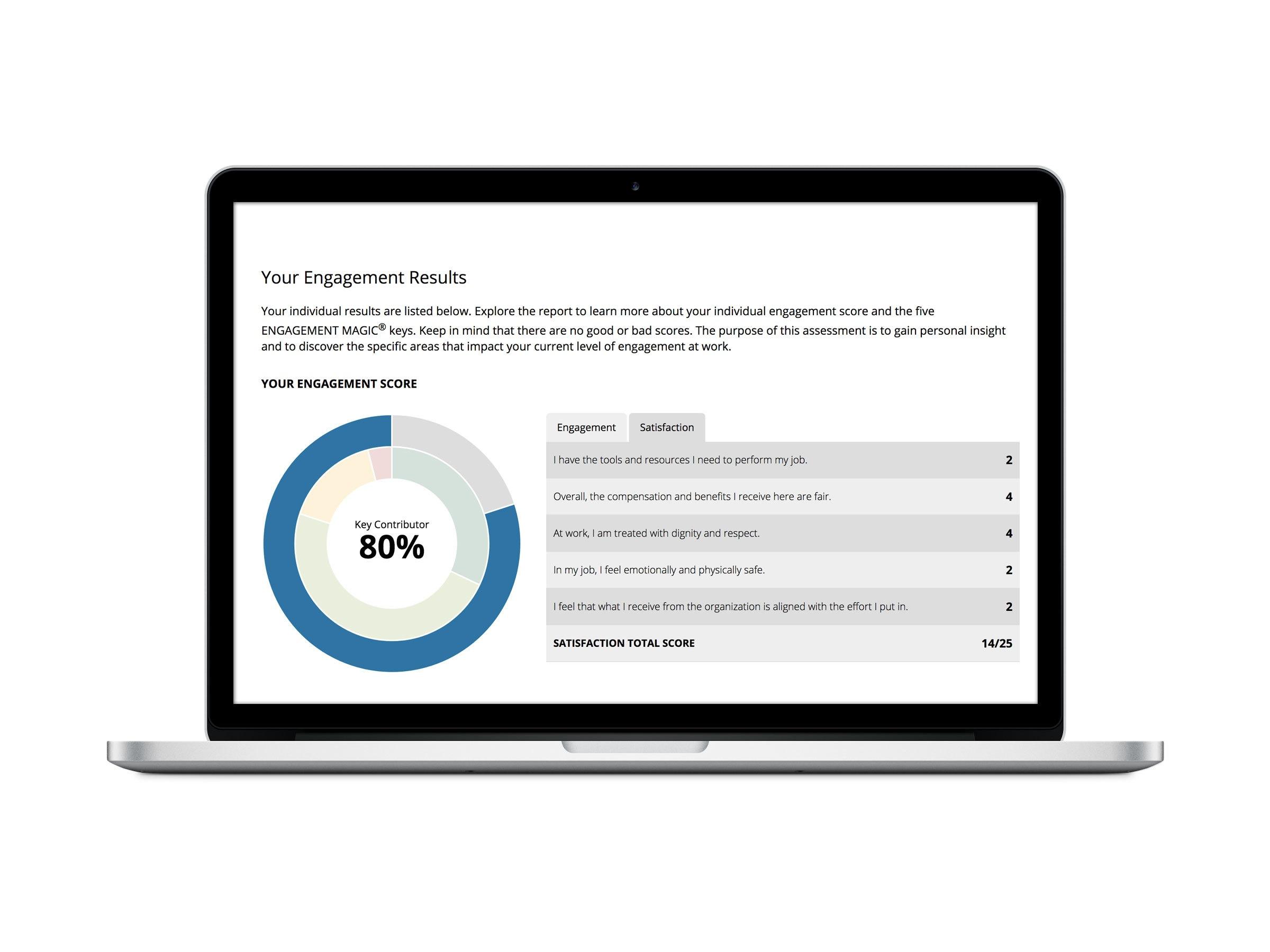 Engagement Survey Results
