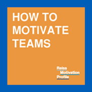 How to motivate teams? Reiss Motivation Profile